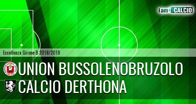 Union BussolenoBruzolo - Calcio Derthona