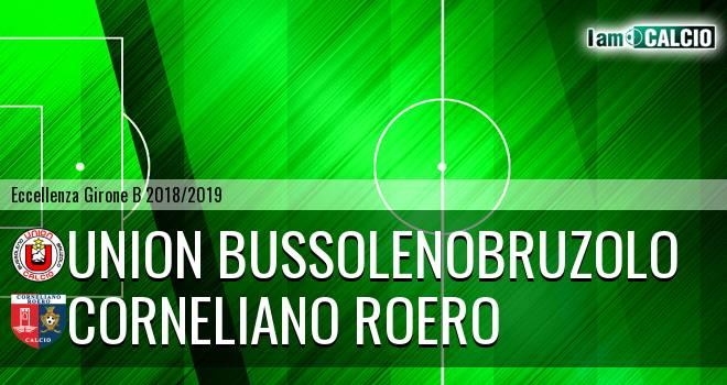 Union BussolenoBruzolo - Corneliano Roero