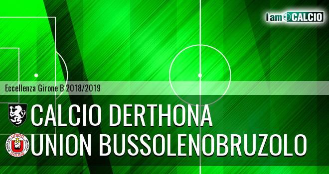 Calcio Derthona - Union BussolenoBruzolo