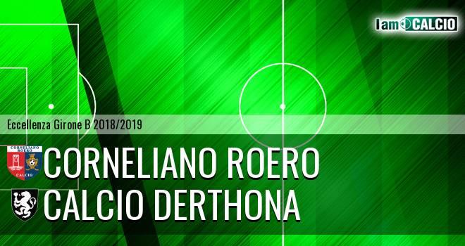 Corneliano Roero - Calcio Derthona