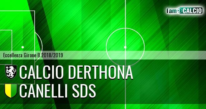 Calcio Derthona - Canelli SDS