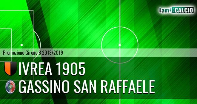 Ivrea 1905 - Gassino San Raffaele