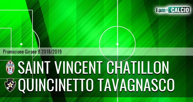 Saint Vincent Chatillon - Quincinetto Tavagnasco