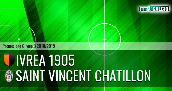 Ivrea 1905 - Saint Vincent Chatillon