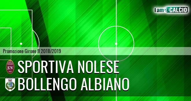 Sportiva Nolese - Bollengo Albiano