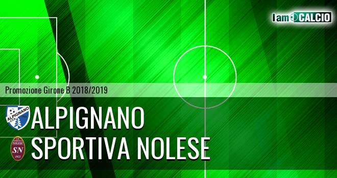 Alpignano - Sportiva Nolese