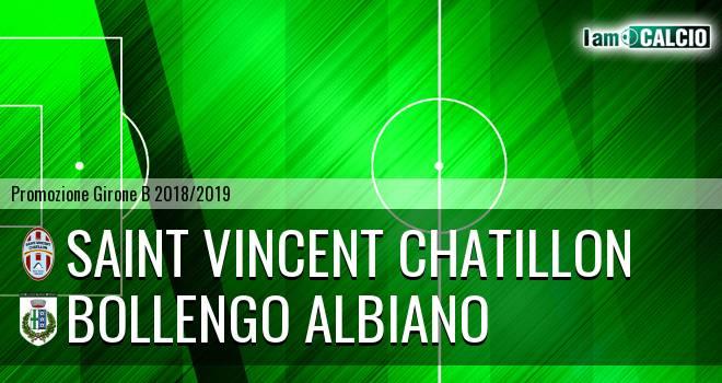 Saint Vincent Chatillon - Bollengo Albiano