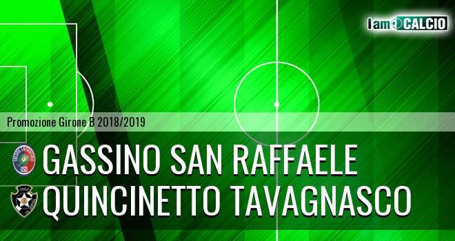 Gassino San Raffaele - Quincinetto Tavagnasco
