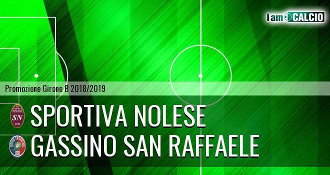 Sportiva Nolese - Gassino San Raffaele