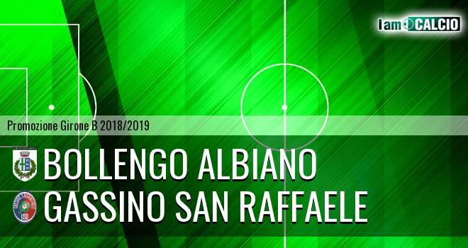 Bollengo Albiano - Gassino San Raffaele