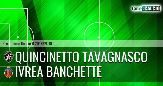 Quincinetto Tavagnasco - Ivrea Banchette