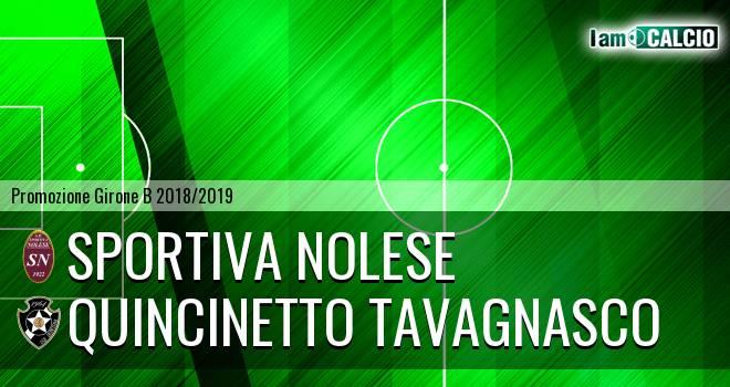 Sportiva Nolese - Quincinetto Tavagnasco
