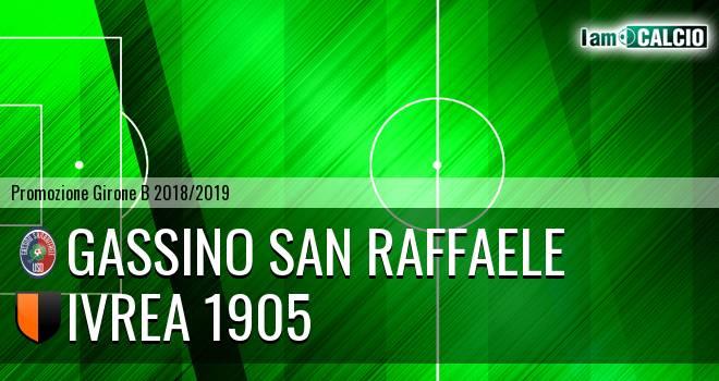 Gassino San Raffaele - Ivrea 1905