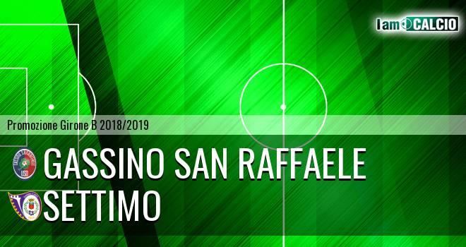 Gassino San Raffaele - Settimo