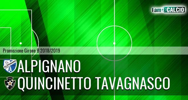 Alpignano - Quincinetto Tavagnasco