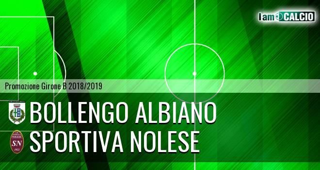 Bollengo Albiano - Sportiva Nolese