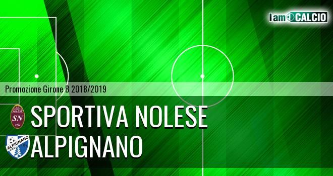 Sportiva Nolese - Alpignano