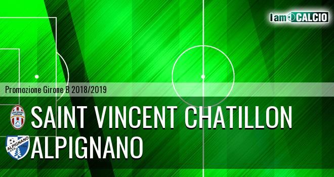 Saint Vincent Chatillon - Alpignano