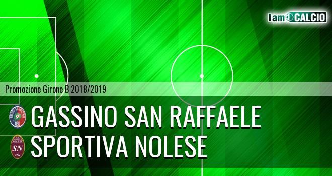 Gassino San Raffaele - Sportiva Nolese