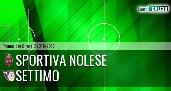 Sportiva Nolese - Settimo