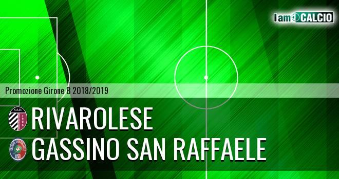 Rivarolese - Gassino San Raffaele