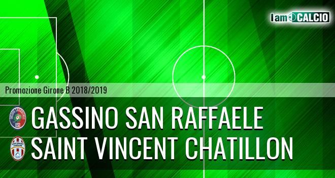 Gassino San Raffaele - Saint Vincent Chatillon