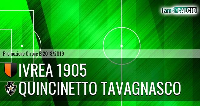 Ivrea 1905 - Quincinetto Tavagnasco