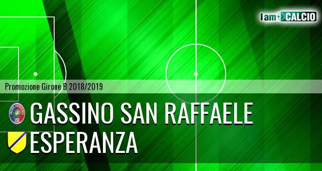 Gassino San Raffaele - Esperanza