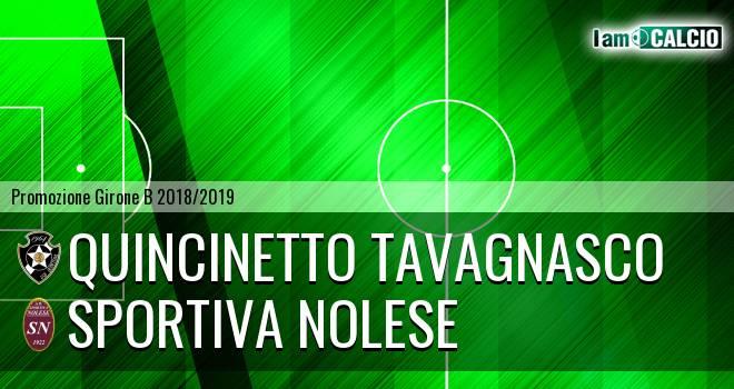 Quincinetto Tavagnasco - Sportiva Nolese