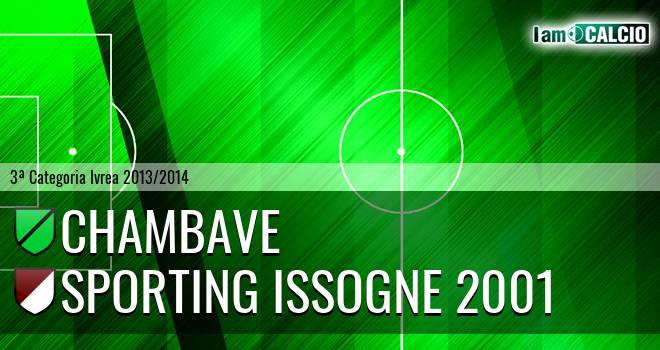 Chambave - Sporting Issogne 2001