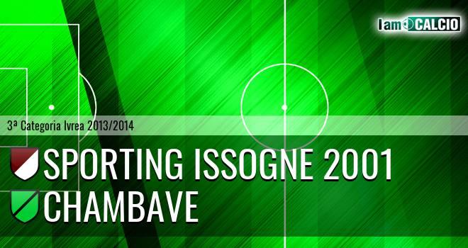 Sporting Issogne 2001 - Chambave