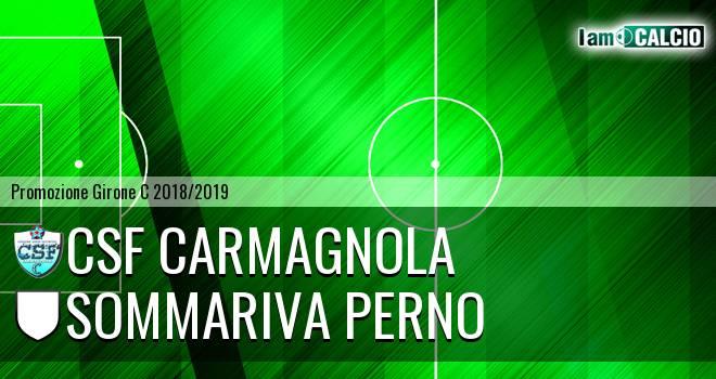 Csf Carmagnola - Sommariva Perno