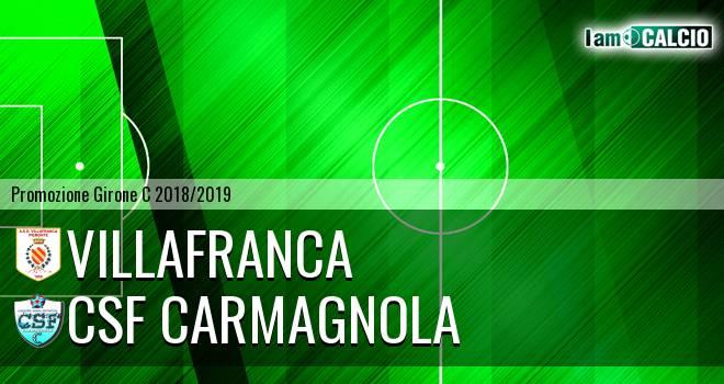 Villafranca - Csf Carmagnola