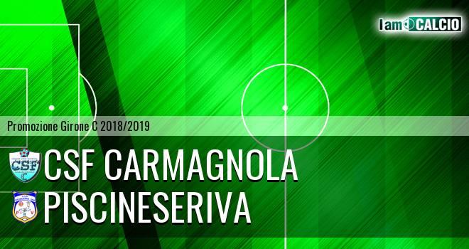 Csf Carmagnola - PiscineseRiva