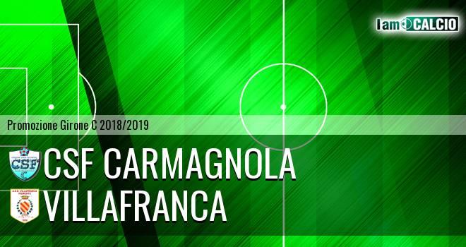 Csf Carmagnola - Villafranca