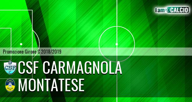 Csf Carmagnola - Montatese