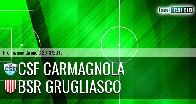 Csf Carmagnola - Bsr Grugliasco