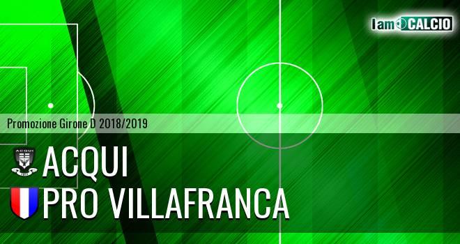 Acqui - Pro Villafranca