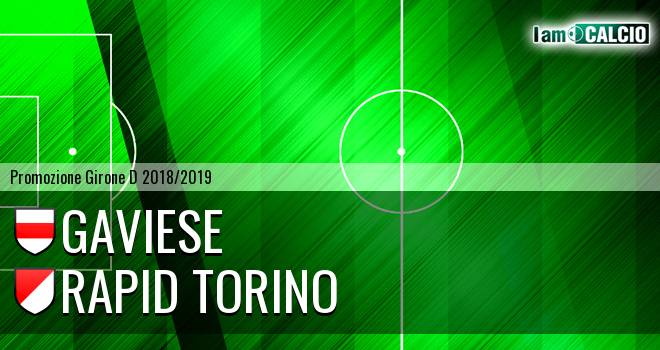Gaviese - Rapid Torino