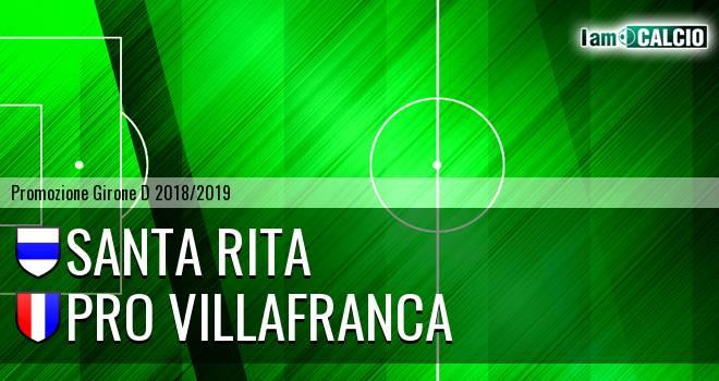 Santa Rita - Pro Villafranca