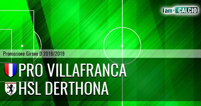 Pro Villafranca - HSL Derthona