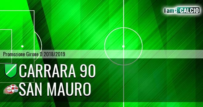 Carrara 90 - San Mauro