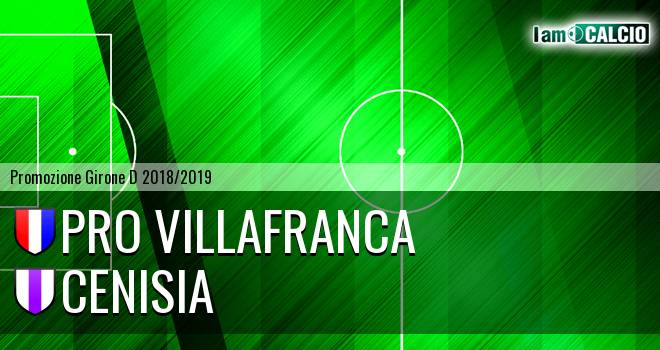 Pro Villafranca - Cenisia