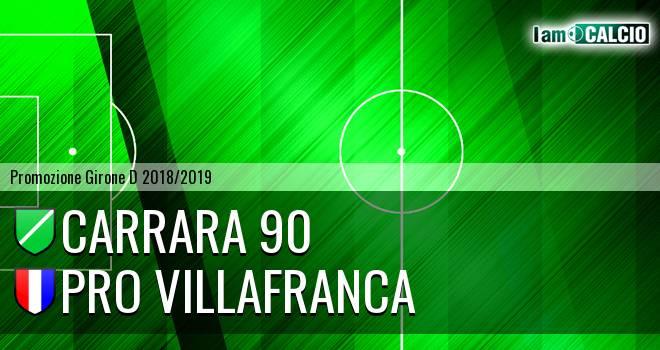 Carrara 90 - Pro Villafranca