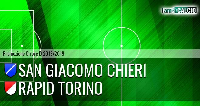 San Giacomo Chieri - Rapid Torino