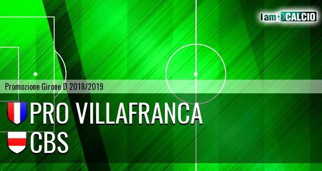 Pro Villafranca - Cbs