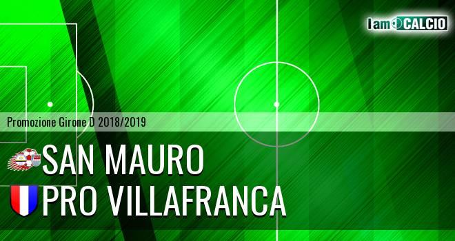 San Mauro - Pro Villafranca