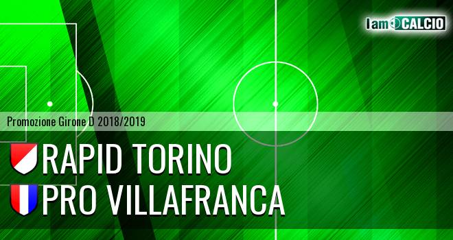 Rapid Torino - Pro Villafranca
