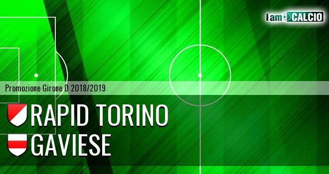 Rapid Torino - Gaviese
