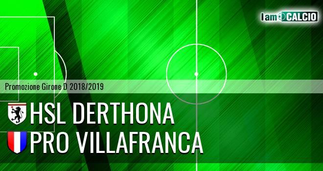 HSL Derthona - Pro Villafranca